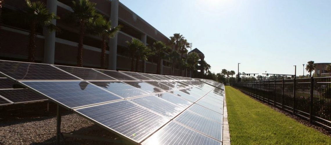The project produces up to 157,000 kWh, avoiding up to $17,000 per year in electricity costs