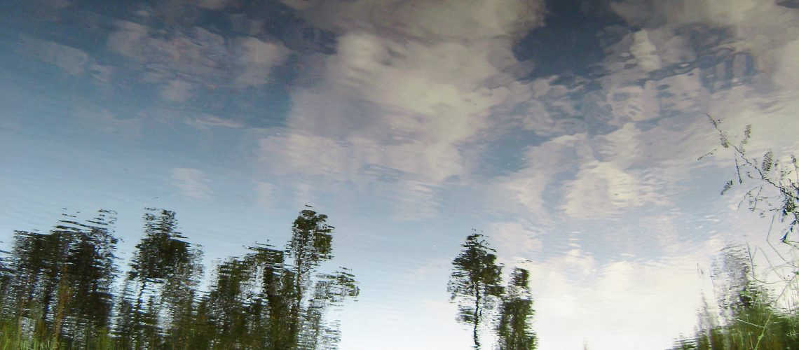 Reflective water